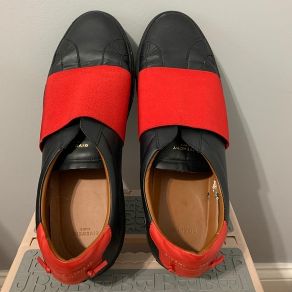 Givenchy Other - Givenchy Men's Black/Red Slip-on Sneaker (Size 14)